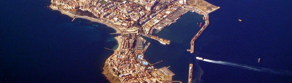 Resultado de imagem para porto de Ceuta